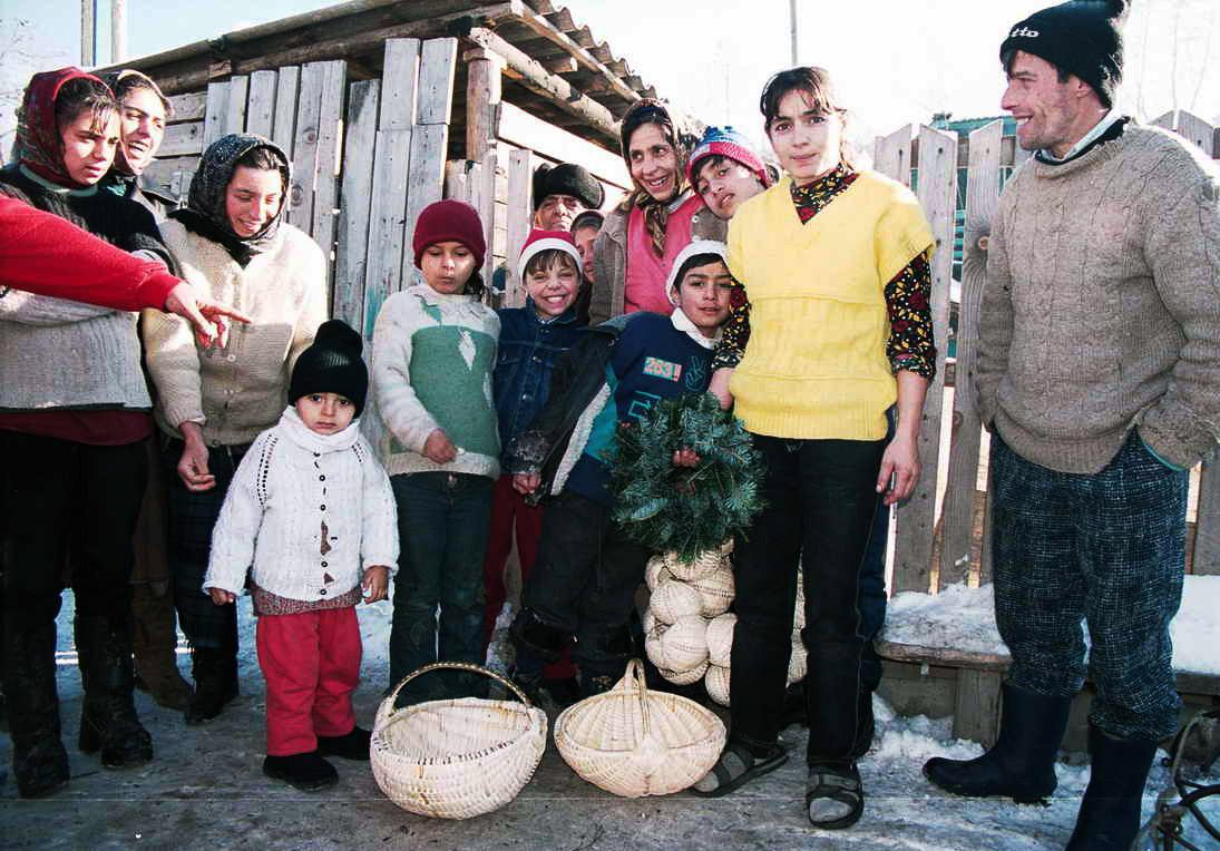 Coșuri impletite, tradițional, România