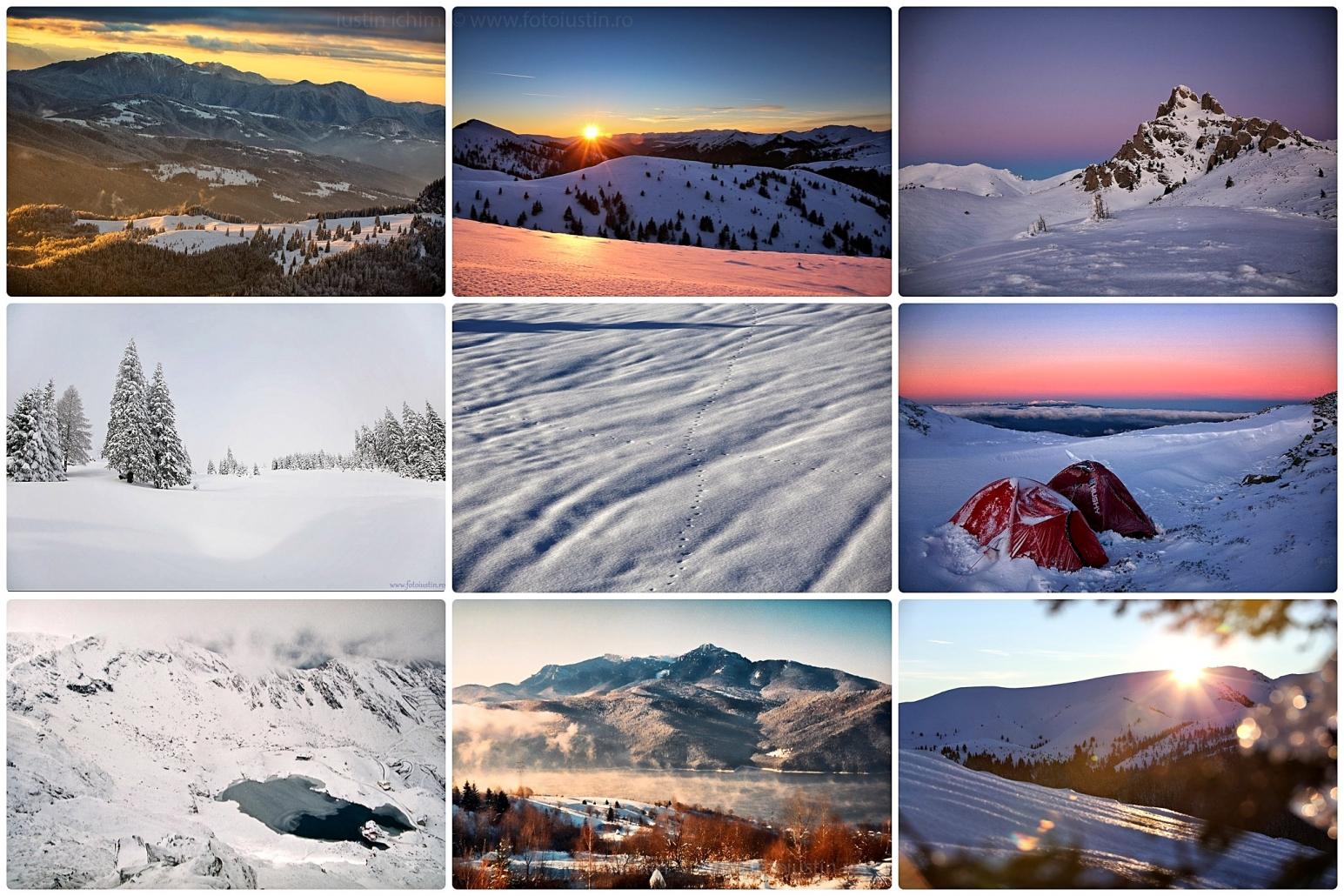Cele mai frumoase peisaje de iarna din Romania