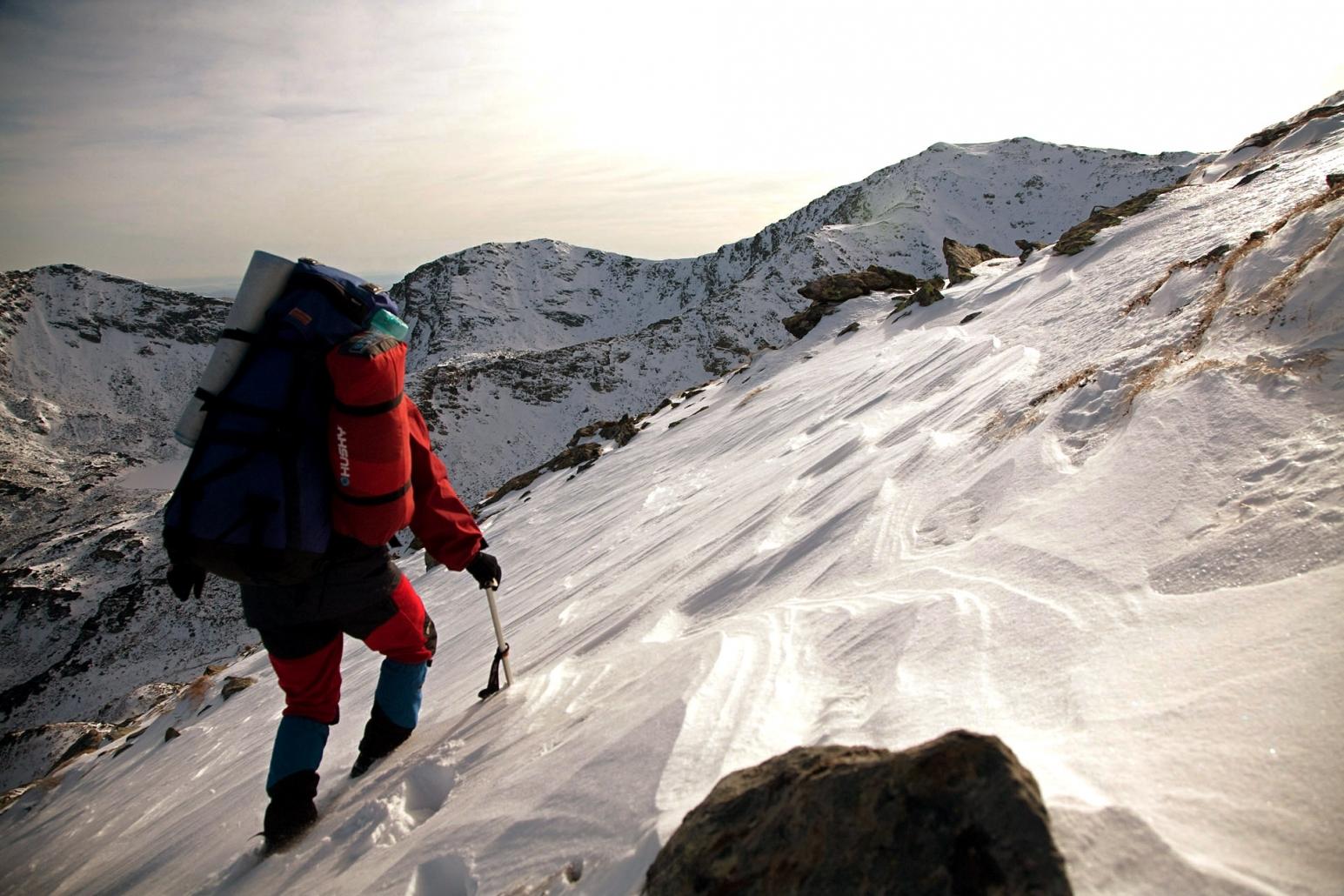 Iarna pe munte
