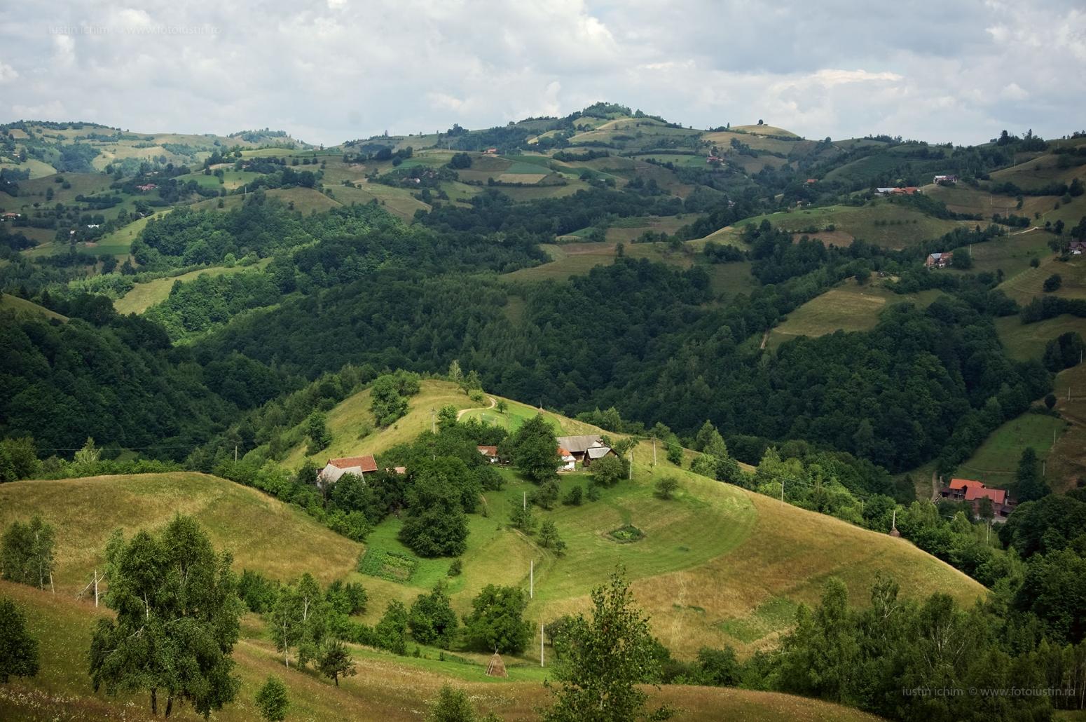 Peisaj pitoresc din România