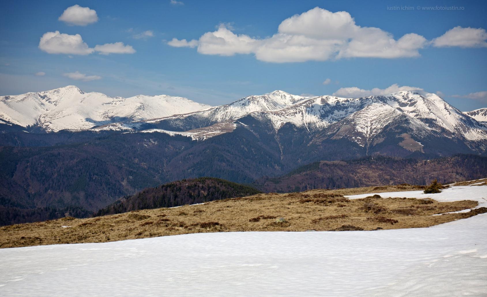 Peisaj montan, România